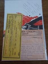Elvis Presley Music Ephemera Memorabilia Fees Telegram Contract Costume Design