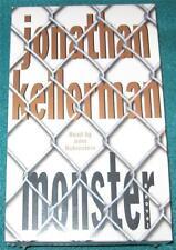 JONATHAN KELLERMAN, Monster, AUDIOBOOK, CASSETTE, NEW