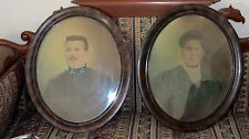 Three Star General ? Soldier & Set Picture/Photo~Oval Frame Austrian War