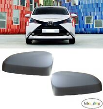 Door Wing Mirror Heated Electric Gloss Cover Left N//S Toyota Aygo 2014 New