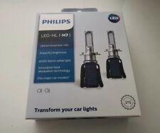 Philips Ultinon Kit Led 6000K Bianco H7 Due Lampadine Faro Anabbaglianti