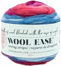 Lion BRAND Wool-ease Roving Yarn Berry 023032061924