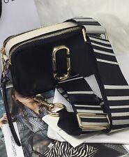 Camera Bag Marc  Jacobs Logo Strap Snapshot  French Grey Cross Body Bag