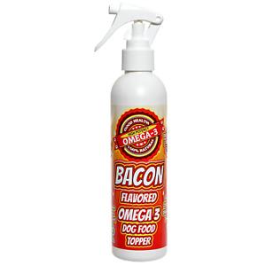 Bacon Flavored Omega 3 Dog Food Spray