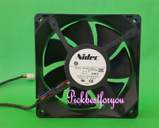 1pc NIDEC B35502-35DEL7 PP749-A00 12038 12V 1.40A 4pin cooling fan #Mx01 QL