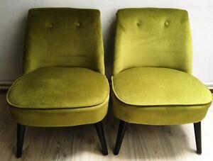 Sessel im Art Deco Stil Lounge Polster Sessel Stuhl Lounge Chair Lindgrün NEU!
