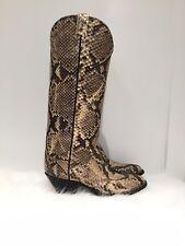 Larry Mahan Snakeskin Cowboy Boots