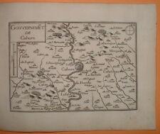 TAS 145 TASSIN 1634 Guyenne - ANTIQUE PLAN GOUVERNEMENT de CAHORS Lot