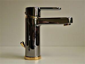 Waschtischarmatur Aranja/Gold (24 Karat), Einhebelmischer, Wasserhahn, Elephant