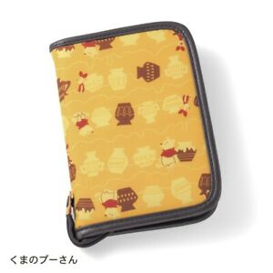 Disney Mickey Pooh Multi Pouch Travel Case Card Hospital Purse Gift Japan E6209
