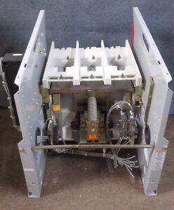 CUTLER HAMMER AC VACUUM CONTACTOR SJS25VW420 360 AMP 5000V 2 PHASE  # SBAR2NN4E1