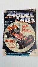 Radio Control Model Cars Magazine UK September 1987 RC Vintage Model Remote