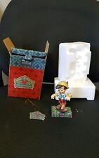 "Disney Traditions Pinocchio ""Lively Step"" Enesco Figurine Jim Shore"