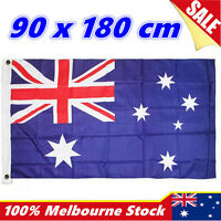 180x90cm Aussie AU National Flag Australia Australian Day Outdoor Flag Large