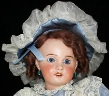 "Antique 23"" French Early SFBJ Bebe Jumeau Doll on Original Jointed Body Ex Cond"