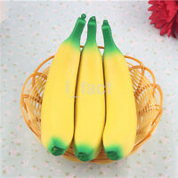 1pc Squeeze Jumbo Stress Stretch Squishy Banana Cream Slow Rising Toy US