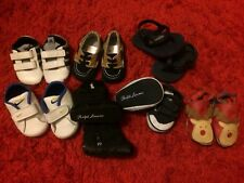 7 Pairs Of 0-3 Baby Boy Shoes