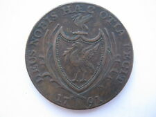 Lancashire Liverpool Halfpenny Token 1791 DH75 Very Rare