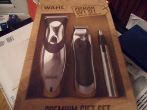 Wahl Premium Gift Set Cordless Hair Clipper With Compact & Personal Trimmer
