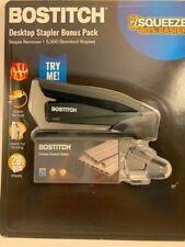 Bostitch Desktop Office Stapler W Bonus Staples Staple Remover Choose Color