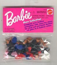 MATTEL BARBIE SHOE COLLECTION 10612 NEW MIP