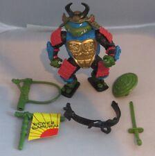 TMNT Teenage Mutant Ninja Turtle 1990 Sewer Samurai Leo, complete
