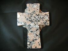 Marble Cross Memorial Stone ~ Marker ~ Hand Cut and Unfinished