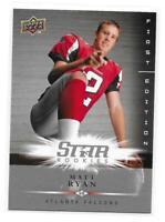2008 Upper Deck First Edition Matt Ryan Rookie Card