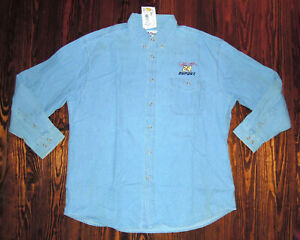 Jeff Gordon Shirt Button Vintage 90s NASCAR Embroidered Chase Authentics XL Tags