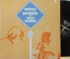 BEN WEBSTER & OSCAR PETERSON - Soulville ~ GATEFOLD 2 x LP