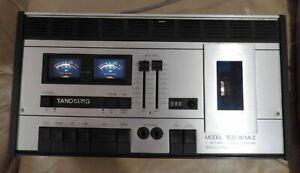 Vintage Tandberg Model TCD 310 MK II Cassette Deck Recorder / Player Working