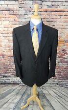 NWT $650 Jos A Bank Executive 42R Grey Stripe Wool 2 Button Sport Coat Blazer