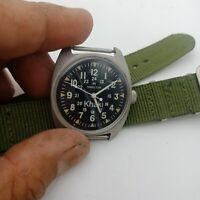 Wrist Watch - US Army NAVY - General Purpose - Vietnam War 1970
