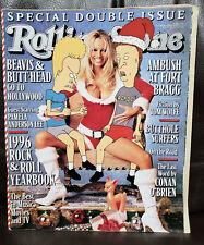 Pamela Sue Anderson Rolling Stone Magazine #750/751 December 26, 1996