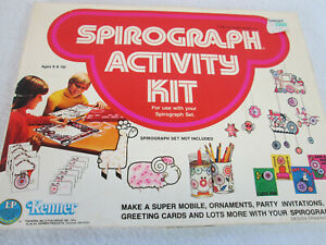 Vintage 1975 Kenner Spirograph Activity Kit NEW no. 14250