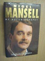 Nigel Mansell My Autobiography By Nigel Mansell, James Allen