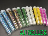 Bulk 1000+ 4mm Seed Beads Transparent Jewellery Craft Making Kids Hair Spacer
