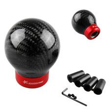 Universal Car Carbon Fiber Ball Refit Auto Manual Gear Shift Knob Shifter lever