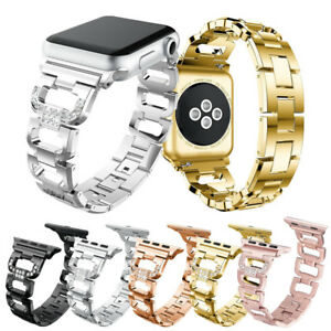 Stainless Steel Bands Straps Bracelet 40/44mm For Apple Watch Series 6 5 4 3 2 1