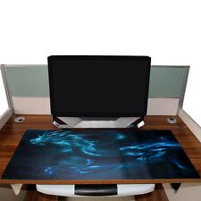 Large XL Gaming Mat Keyboard Desktop Mat Mouse Pad Laptop Cool Blue Dragon US