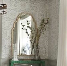 Horchow Arched Moroccan Champagne Silver WALL MIRROR FOYER BATHROOM VANITY