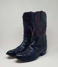 Vintage Lucchese Ostrich Cowboy boots  13 D