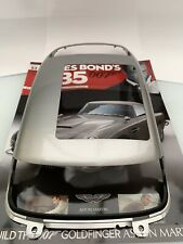 JAMES BOND 007 - ASTON MARTIN DB5 1:8 SCALE BUILD GOLDFINGER ISSUE 52 USED
