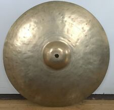 "K ZILDJIAN & Cie Turkish Istanbul Constantinople 13"" Hi-Hat Crash Cymbal 30s Vtg"
