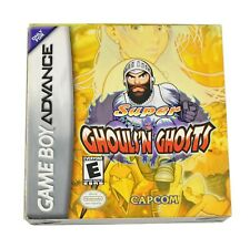 Super Ghouls 'N Ghosts - Boxed Nintendo Game Boy Advance Game VGC