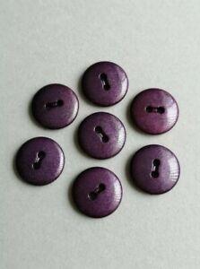 Large Shiny Purple Buttons