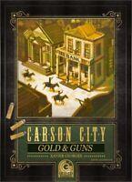 Gioco in scatola CARSON CITY GOLD & GUNS (espansione di gioco) pari al nuovo