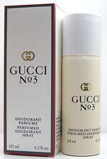 Gucci No 3  Deodorant Spray 125ml  NEU OVP