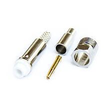 Buchse Stecker Connector FME female Löt Antenne Antennenstecker RG174