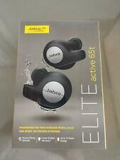 Jabra Elite Active 65t Senza Fili Bluetooth Cuffie-Nero (Sigillato Nuovo di zecca -)